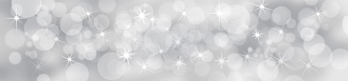 Silver Festive Background royalty free illustration