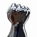 Silver Fist Royalty Free Stock Photography