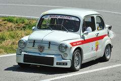 Silver Flag 2012 - Fiat Abarth 1000TC 1966 Stock Image