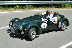 Silver Flag 2012 - Frazer Nash LeMans 1948 Royalty Free Stock Photo