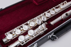 Silver flute Royalty Free Stock Photo