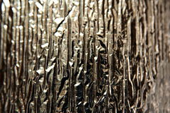 Silver foil royalty free stock images