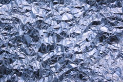 Silver Foil Background Texture Royalty Free Stock Photos