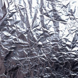 Silver foil background texture Stock Photography