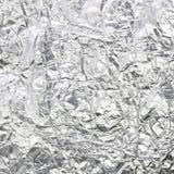 Silver foil Stock Photo