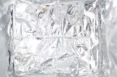 Silver foil Royalty Free Stock Image