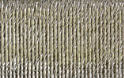 Silver foil insulation. Texture,close up view Stock Image