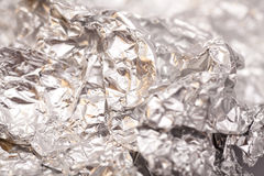 Silver Foil surface textured Stock Images