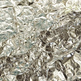 Silver foil texture Royalty Free Stock Photography