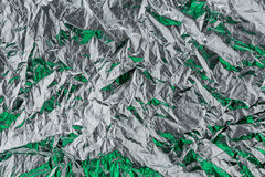 Silver  foil Stock Photography
