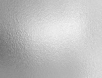 Silver foil texture. Shiny metal silver foil texture for background Stock Images