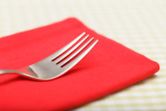 Silver fork Royalty Free Stock Photography