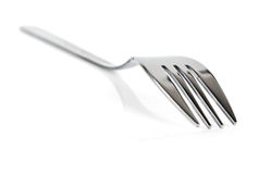 Silver fork Royalty Free Stock Photos