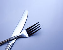 Silver fork Stock Images