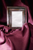Silver frame Stock Images