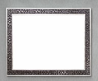 Silver frame Royalty Free Stock Images