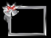 Silver frame Stock Photos