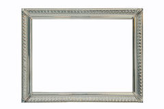 Silver frame Royalty Free Stock Photos