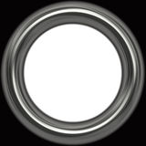 Silver frame Royalty Free Stock Image