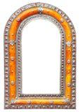 Silver frame Royalty Free Stock Photos