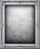 Silver frame background Royalty Free Stock Photography
