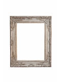 Silver frame isolated Stock Image