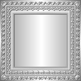 Silver frame Royalty Free Stock Photo