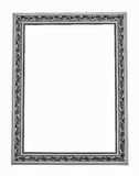 Silver frame for painting Royalty Free Stock Images
