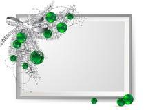 Silver frame Stock Photo