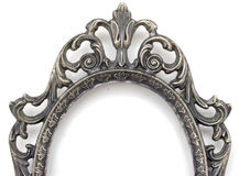 Silver frame top Stock Images