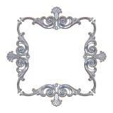 Silver framework Royalty Free Stock Photos