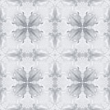 Silver Frost Winter Seamless Background Pattern Tile Stock Images