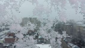 Silver fryste mousserande stjärnor för snövinter blänker bakgrund Ferie jul, abstrakt begrepptextur för nytt år royaltyfri bild