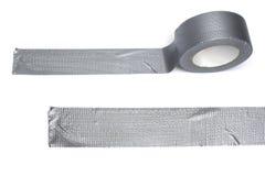 Silver gaffa tape role Stock Image