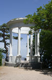 The silver gazebo. The silver gazebo on mount Pediculi Royalty Free Stock Photography