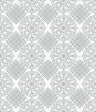 Silver geometrical wallpaper Stock Image