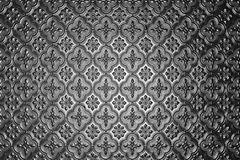 Silver glass pattern Royalty Free Stock Images