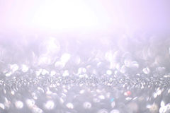 Silver Glitter Background Royalty Free Stock Images