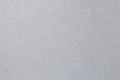 Silver glitter background. Close up picture Stock Photos