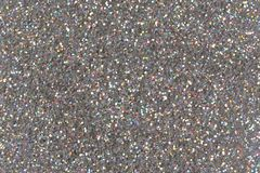 Silver glitter background. Low contrast photo of silver glitter. Silver glitter background. Low contrast photo of glitter stock photography