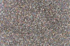 Silver glitter background texture. Silver glitter background, texture. High resolution photo Royalty Free Stock Images