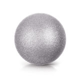 Silver Glitter ball 3D illustration Royalty Free Stock Photography