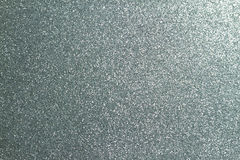 Silver glitter. Full frame textured shiny background Stock Image