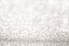 Silver glitter light royalty free stock photos