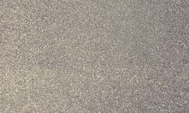 Silver glitter sparkling background royalty free stock photos