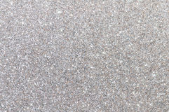 Silver glitter texture background Royalty Free Stock Images