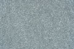 Silver glitter texture abstract background stock photo