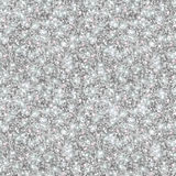 Silver Glitter Texture, Seamless Sequins Pattern Stock Image