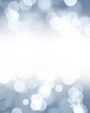 Silver glitters Stock Photo