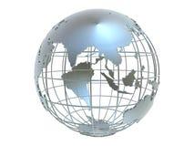 Silver globe Royalty Free Stock Photo